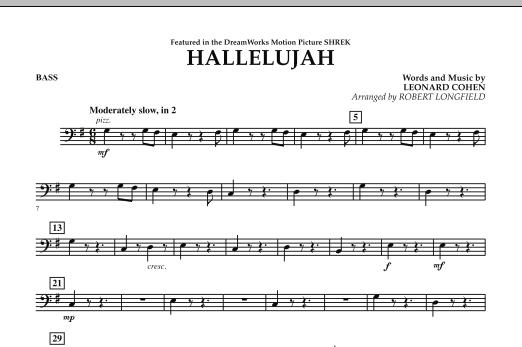 Hallelujah - Bass (Orchestra)