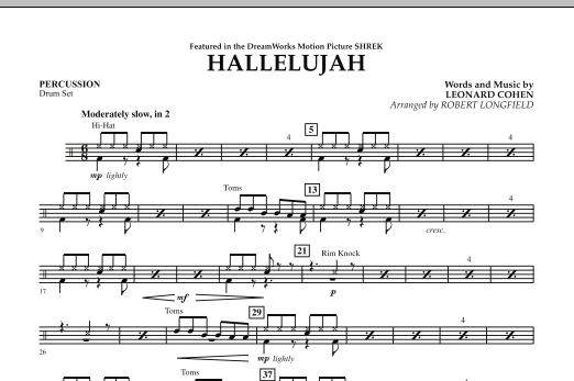Hallelujah - Percussion (Orchestra)