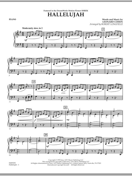 Hallelujah - Piano (Orchestra)
