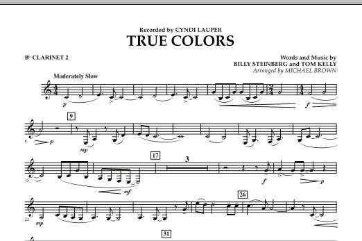 True Colors - Bb Clarinet 2 (Concert Band)