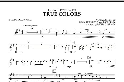 True Colors - Eb Alto Saxophone 2 (Concert Band)