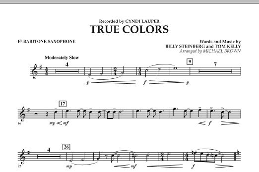 True Colors - Eb Baritone Saxophone (Concert Band)