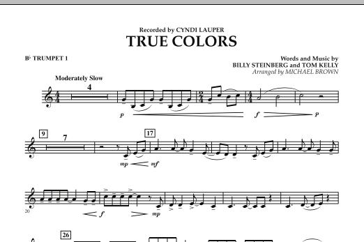 True Colors - Bb Trumpet 1 (Concert Band)