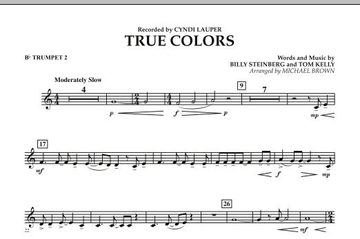 True Colors - Bb Trumpet 2 (Concert Band)