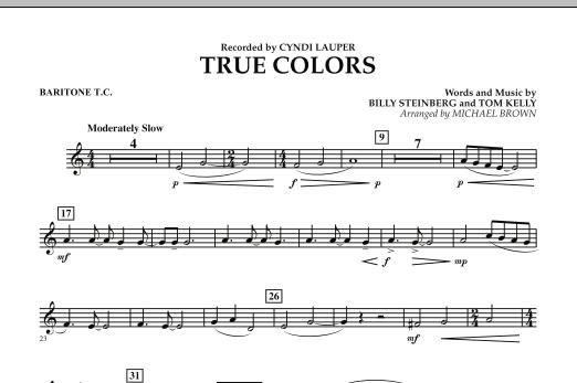 True Colors - Baritone T.C. (Concert Band)