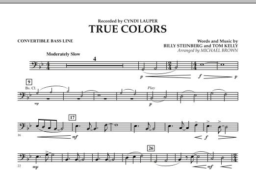 True Colors - Convertible Bass Line (Concert Band)