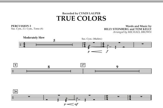 True Colors - Percussion 2 (Concert Band)
