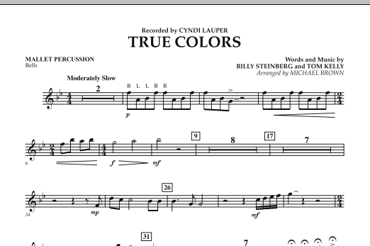 True Colors - Mallet Percussion (Concert Band)