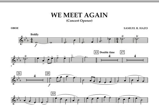 We Meet Again - Oboe (Concert Band)