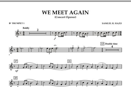 We Meet Again - Bb Trumpet 1 (Concert Band)