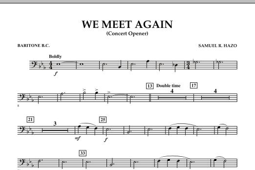 We Meet Again - Baritone B.C. (Concert Band)