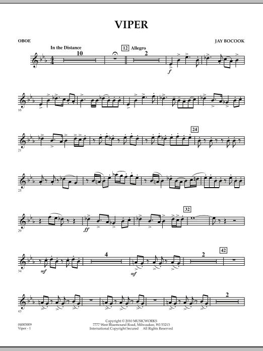 Viper - Oboe (Concert Band)