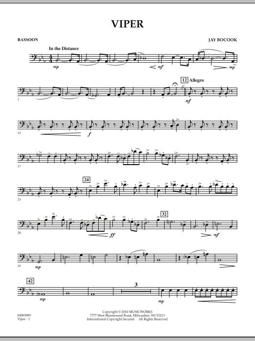 Viper - Bassoon (Concert Band)