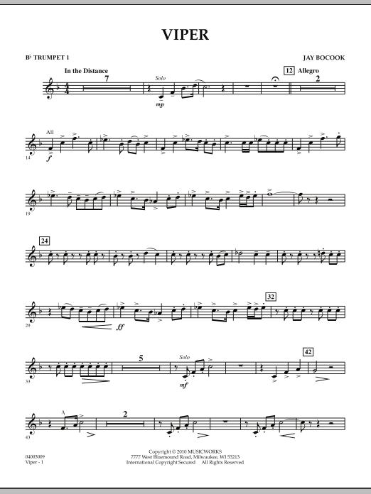 Viper - Bb Trumpet 1 (Concert Band)