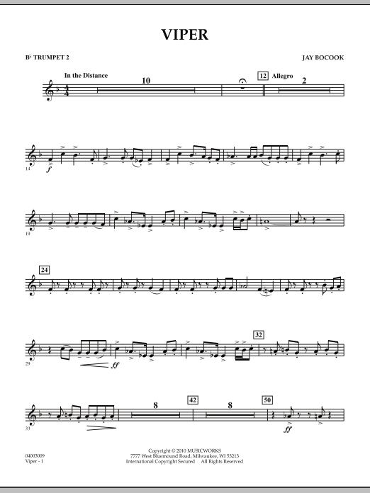 Viper - Bb Trumpet 2 (Concert Band)