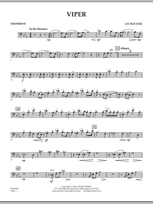 Viper - Trombone (Concert Band)