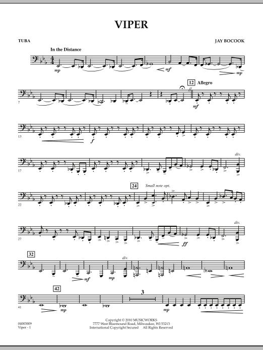 Viper - Tuba (Concert Band)
