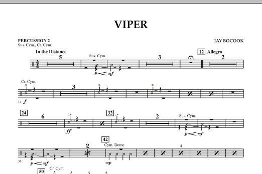 Viper - Percussion 2 (Concert Band)