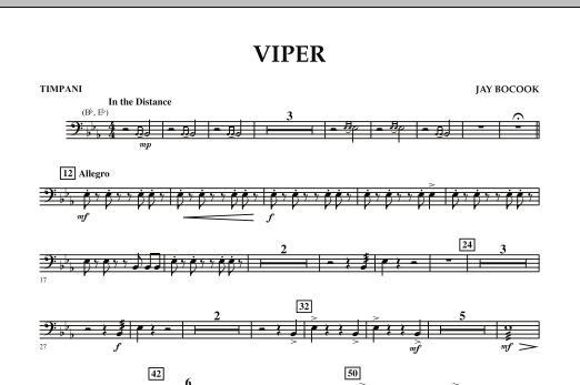 Viper - Timpani (Concert Band)