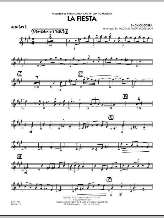 La Fiesta - Alto Sax 2 (Jazz Ensemble)