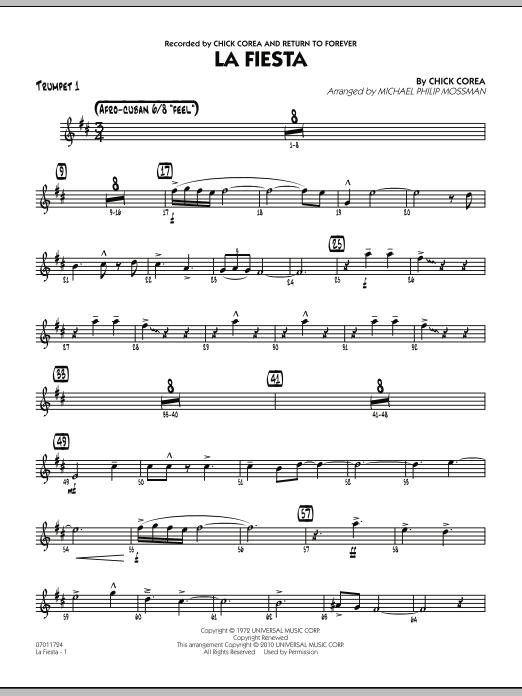 La Fiesta - Trumpet 1 (Jazz Ensemble)