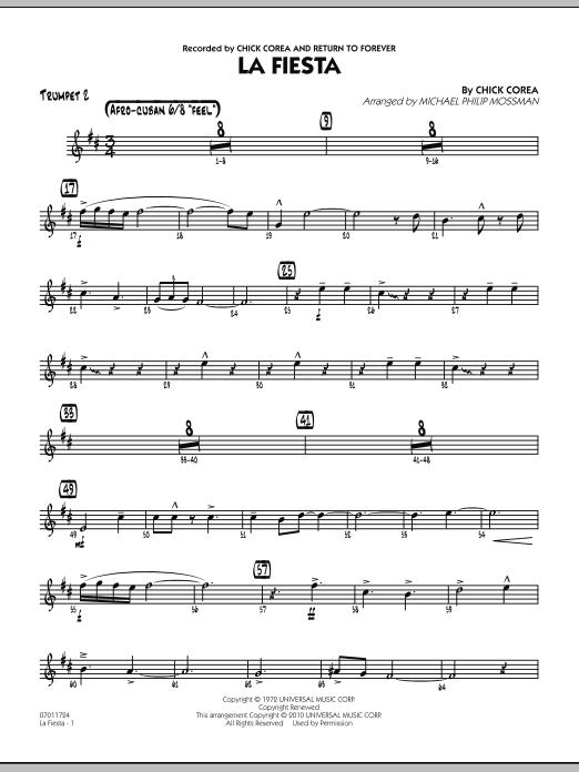 La Fiesta - Trumpet 2 (Jazz Ensemble)