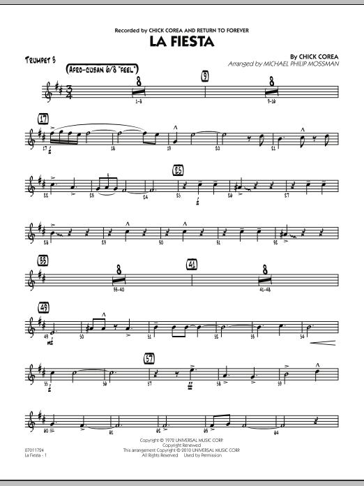 La Fiesta - Trumpet 3 (Jazz Ensemble)