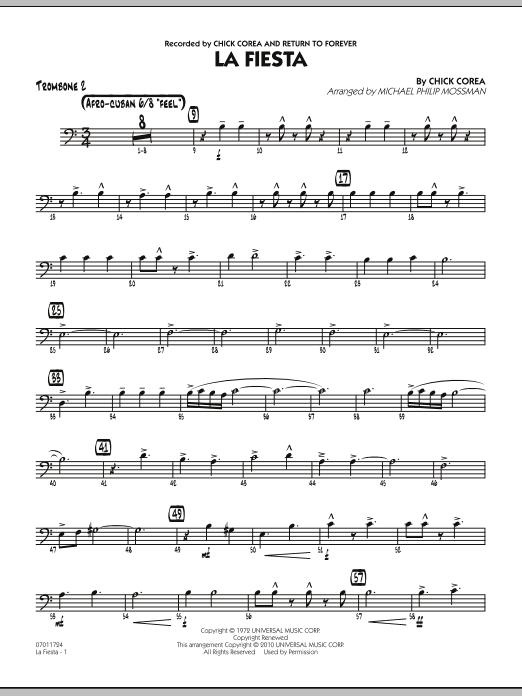 La Fiesta - Trombone 2 (Jazz Ensemble)