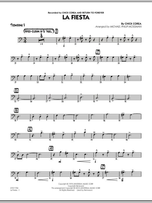 La Fiesta - Trombone 3 (Jazz Ensemble)