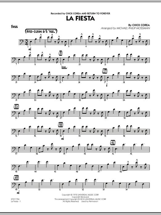 La Fiesta - Bass (Jazz Ensemble)