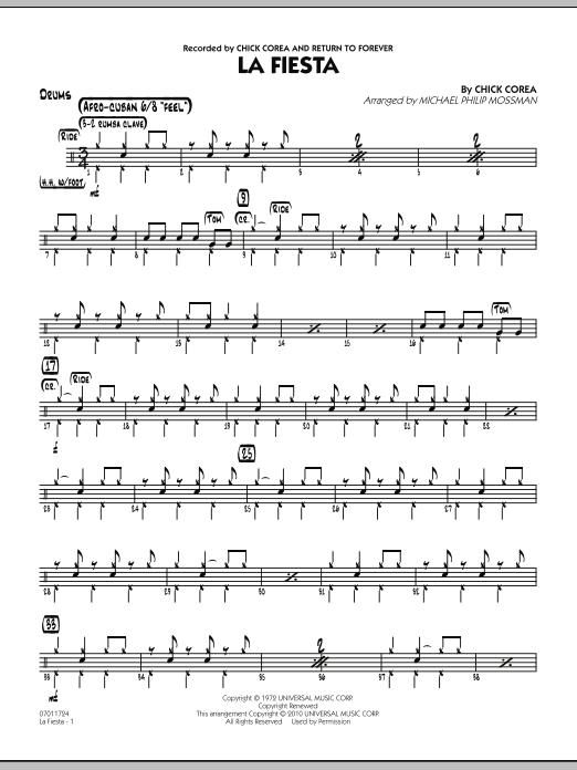 La Fiesta - Drums (Jazz Ensemble)