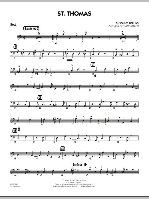 St. Thomas - Bass (Jazz Ensemble)