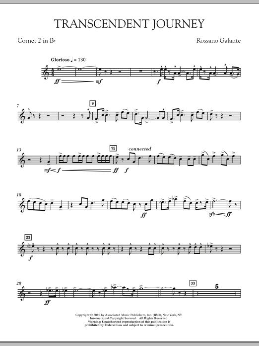 Transcendent Journey - Bb Cornet 2 (Concert Band)