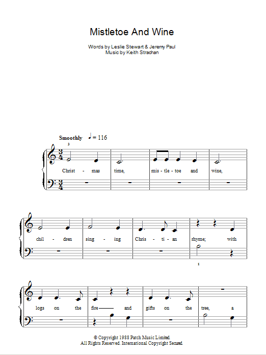 mistletoe sheet music - Seatle.davidjoel.co