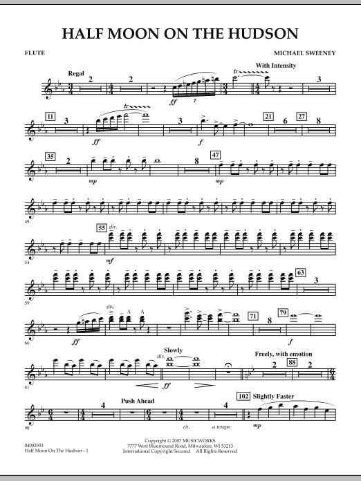 Half Moon On The Hudson - Flute (Concert Band)