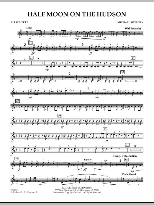 Half Moon On The Hudson - Bb Trumpet 2 (Concert Band)