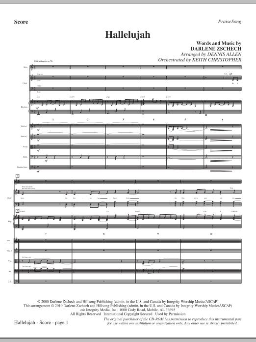 Hallelujah - Full Score Sheet Music