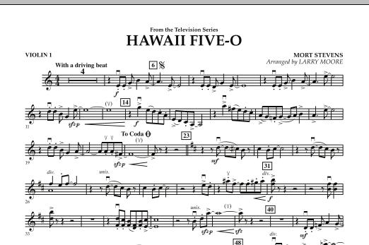 Hawaii Five-O - Violin 1 (Orchestra)