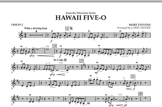 Hawaii Five-O - Violin 2 (Orchestra)