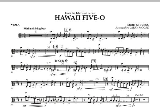 Hawaii Five-O - Viola (Orchestra)