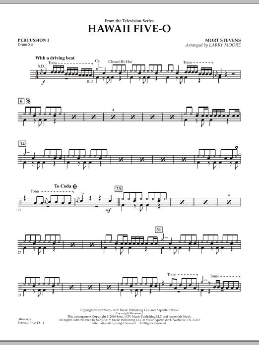 Hawaii Five-O - Percussion 1 (Orchestra)