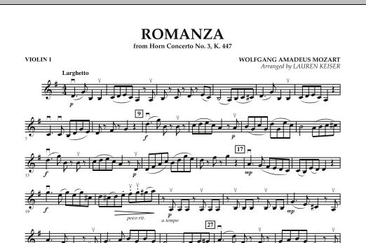 Romanza (from Horn Concerto No. 3, K. 447) - Violin 1 (Orchestra)
