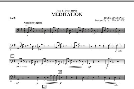 Meditation - Bass (Orchestra)