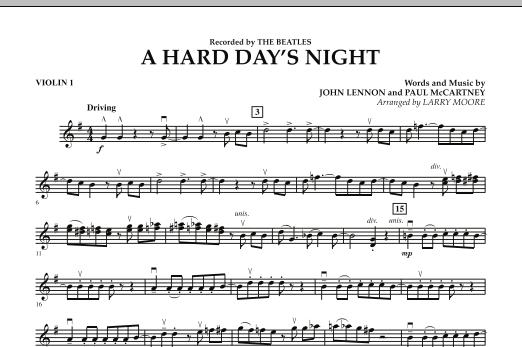 A Hard Day's Night - Violin 1 (Orchestra)