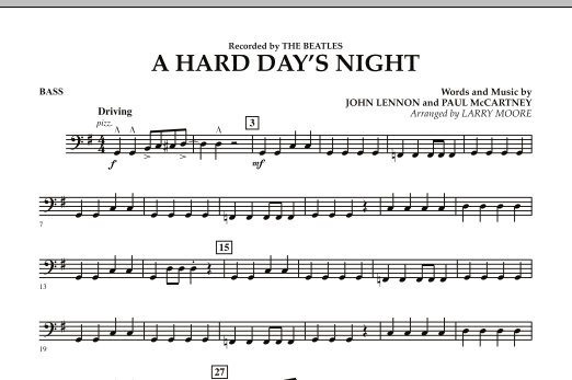 A Hard Day's Night - Bass (Orchestra)