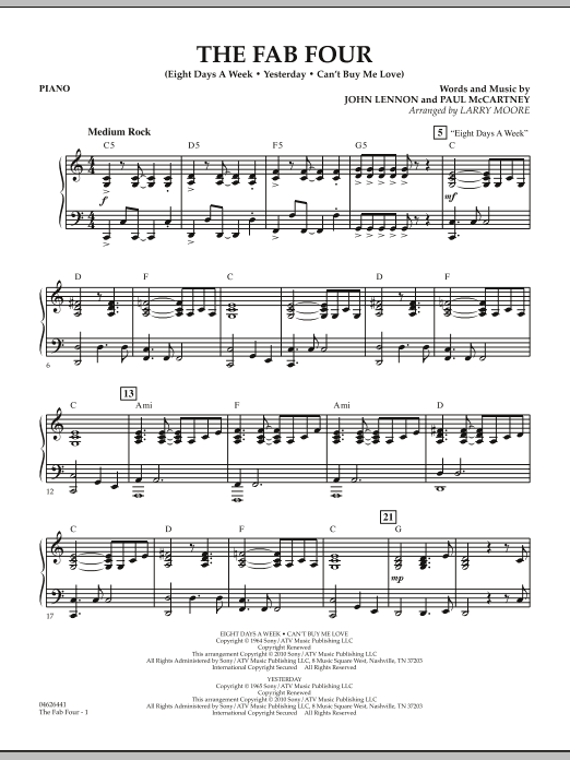 The Fab Four - Piano (Orchestra)