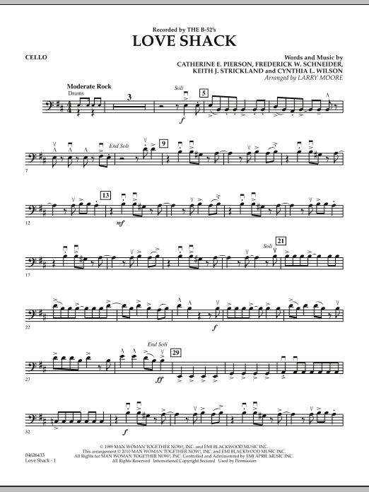 Love Shack - Cello (Orchestra)