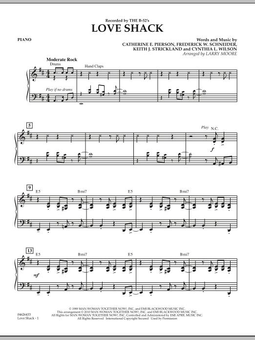 Love Shack - Piano (Orchestra)