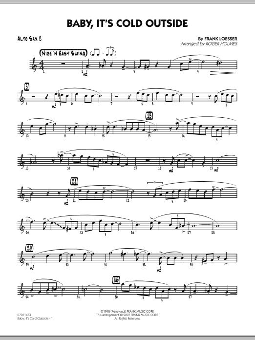 Baby, It's Cold Outside - Alto Sax 2 (Jazz Ensemble)