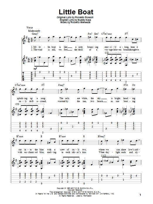 Little Boat (Solo Guitar)